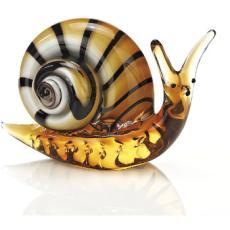 Murano Style Art Glass Snail