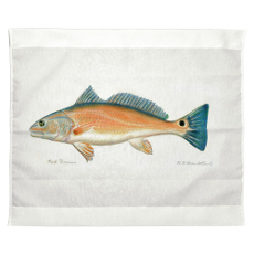 Red Drum Outdoor Wall Hanging 24X30