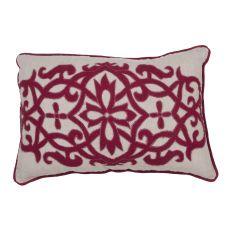 Traditional & Classic Pattern Linen Inspired By Jennifer Adams Pillows Down Fill Pillow