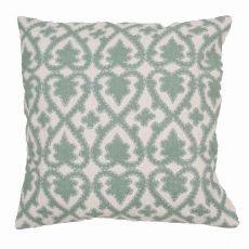 "Modern/Contemporary Pattern Green Cotton Poly Pillow ( 22""X22"")"