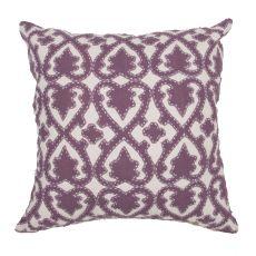 "Modern/Contemporary Pattern Purple Cotton Poly Pillow ( 22""X22"")"