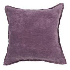 "Modern/Contemporary Pattern Purple Cotton Down Fill Pillow ( 22""X22"")"