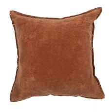"Modern/Contemporary Pattern Orange Cotton Down Fill Pillow ( 22""X22"")"