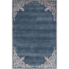 Borders Pattern Wool Timeless By Jennifer Adams Tufted Area Rug
