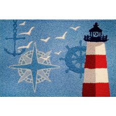 "Ocean Outpost Indoor/Outdoor Rug, 20"" X 30"""