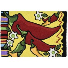 "Fiesta Peppers Indoor/Outdoor Rug, 20"" X 30"""