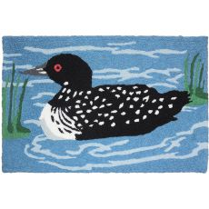 "Northwoods Loon Indoor/Outdoor Rug, 20"" X 30"""