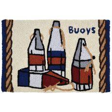"""Americana Buoys Indoor/Outdoor Rug, 20"""" X 30"""""""