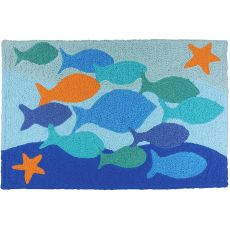 "School Standout Indoor/Outdoor Rug, 20"" X 30"""