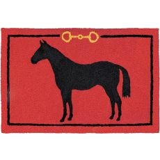 "Hunter Jumper Indoor/Outdoor Rug, 20"" X 30"""