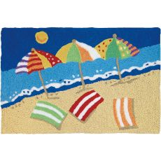 "Beachy Keen Indoor/Outdoor Rug, 20"" X 30"""