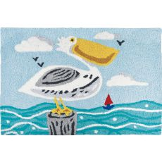 "Perky Pelican Indoor/Outdoor Rug, 20"" X 30"""