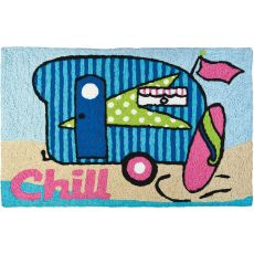 "Surfer Girl Indoor/Outdoor Rug, 20"" X 30"""