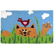 "Tabby & Tweetie Indoor/Outdoor Rug, 20"" X 30"""