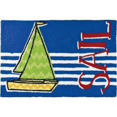 "Sail Indoor/Outdoor Rug, 20"" X 30"""