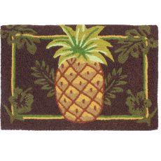 """Welcoming Pineapple Indoor/Outdoor Rug, 20"""" X 30"""""""