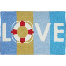 "Preserve Love Indoor/Outdoor Rug, 20"" X 30"""