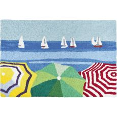 "Sailboats In The Distance Indoor/Outdoor Rug, 20"" X 30"""