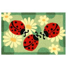 "Ladybugs Indoor/Outdoor Rug, 20"" X 30"""