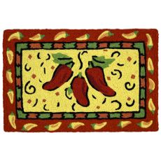 "Poppin' Peppers Indoor/Outdoor Rug, 20"" X 30"""