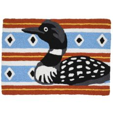 "North Country Loon Indoor/Outdoor Rug, 20"" X 30"""