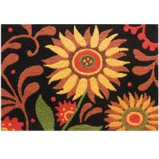 "Prairie Sunflowers Indoor/Outdoor Rug, 20"" X 30"""