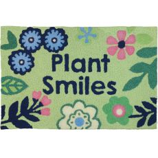 "Plant Smiles Indoor/Outdoor Rug, 20"" X 30"""