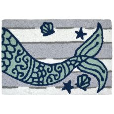 "Mermaid's Tail Indoor/Outdoor Rug, 20"" X 30"""