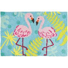 """Flamingo Friends Indoor/Outdoor Rug, 20"""" X 30"""""""