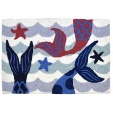 "Mermaid Sisters Indoor/Outdoor Rug, 20"" X 30"""