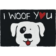 "I Woof You Indoor/Outdoor Rug, 20"" X 30"""
