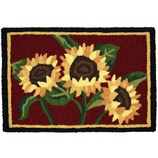 "Sunflower Bouquet Indoor/Outdoor Rug, 20"" X 30"""