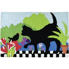 "Garden Buddies Indoor/Outdoor Rug, 20"" X 30"""