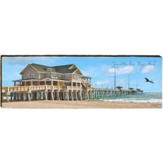 Jennettes Pier Wood Wall Art