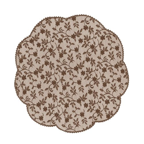 "Jasmine 42"" Round Table Topper"