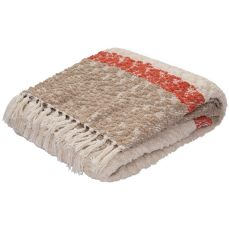 Pattern Polyester And Cotton Kin-01 Throw