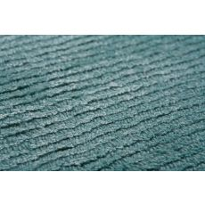 Solids Solids & Heather Pattern Blue Wool And Art Silk Area Rug (9X13)