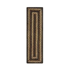 "Homespice Decor 11"" x 36"" Table Runner Rect. Kilimanjaro Jute Braided Accessories"
