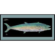Kingfish Mat With Border Floor Mat