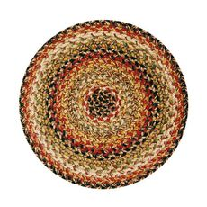 "Homespice Decor 15"" Trivet Round Kingston Jute Braided Accessories"