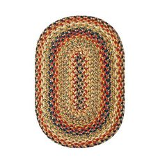 "Homespice Decor 13"" x 19"" Placemat Oval Kingston Jute Braided Accessories"