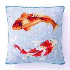 Koi Fish Hook Pillow
