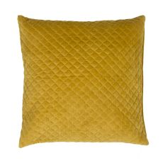 "Modern/Contemporary Pattern Yellow/Gold Cotton Down Fill Pillow ( 22""X22"")"