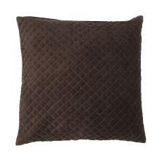 "Modern/Contemporary Pattern Brown Cotton Down Fill Pillow ( 22""X22"")"