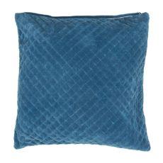 "Modern/Contemporary Pattern Blue Cotton Down Fill Pillow ( 22""X22"")"