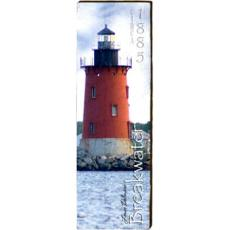 Breakwater Lighthouse Wood Wall Art