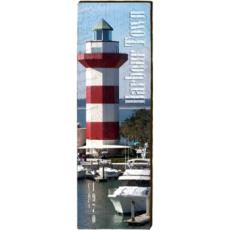 Harbour Town Lighthouse Wood Wall Art