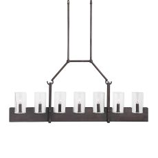 Uttermost Pinecroft, 7 Light Island Linear Pendant