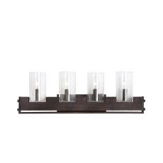 Uttermost Pinecroft Industrial 4 Light Vanity
