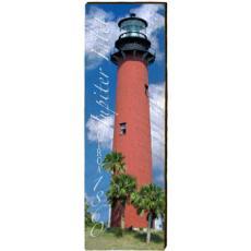 Jupiter Inlet Lighthouse Wood Wall Art